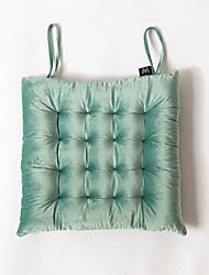 cheap -Seat Cushion Italy Velvet European Style Soft Chair Cushion Home Office Seat Bar Dining Chair Seat Pads Garden Floor Cushion