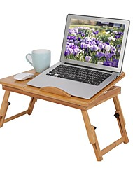 cheap -Modern Coffee Table,Bamboo Rack Shelf Dormitory Bed Lap Desk Portable Book Reading Tray Stand Living Room Furniture