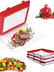 cheap -Food Preservation Tray Food Fresh Keeping Fresh Spacer Organizer Food Preservate Refrigerator Food Storage Meal Prep