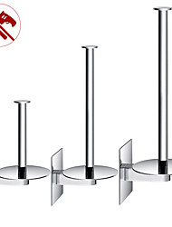 cheap -Toilet Paper Holder Adjustable Length / New Design / Self-adhesive Contemporary / Modern Stainless Steel / Low-carbon Steel / Metal 1pc - Bathroom Wall Mounted