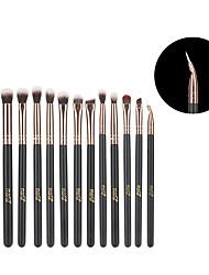 cheap -MSQ 12pcs Eyeshadow Makeup Brushes Set Concealer Eye Shadow Blending Eyeliner Dtail pincel maquiagem Rose Gold Make Up Brush