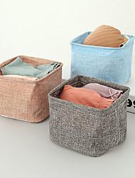 cheap -Multifunction Desktop Sundries Underwear Storage Basket Stationery Organizer Container 12*12*9.5CM