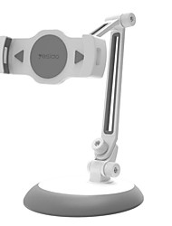 cheap -Phone Holder Stand Mount Desk Foldable Adjustable Stand Phone Holder Buckle Type Adjustable 360°Rotation Silicone Aluminum Alloy ABS Phone Accessory iPhone 12 11 Pro Xs Xs Max Xr X 8 Samsung Glaxy