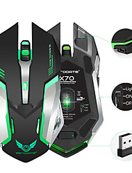 cheap -Rechargeable 2.4GHz Wireless Gaming Mouse Backlight USB Optical Gamer Mice for Computer Desktop Laptop NoteBook PC