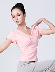 cheap -Latin Dance Top Bowknot Women's Training Polyester
