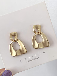 cheap -s925 silver needle korean temperament cold wind high-end matte earrings female personality retro hong kong style earrings d1071