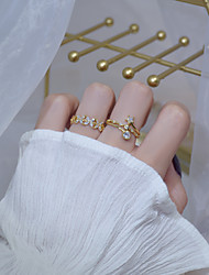 cheap -heart of the ocean! exquisite micro-inlaid zircon ring female fashion personality niche design open simple ring new product