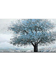 cheap -Oil Painting Handmade Hand Painted Wall Art Mintura Modern Abstract Tree Landscape Home Decoration Decor Rolled Canvas No Frame Unstretched