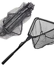 cheap -Landing Net Fishing Net / Keep Net 78 m RUBBER / Portable Telescopic Handle / ABS