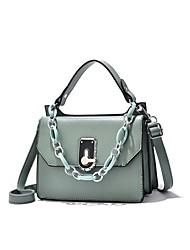 cheap -Women's Bags Crossbody Bag Daily Going out Handbags Chain Bag Blue Yellow Blushing Pink Khaki