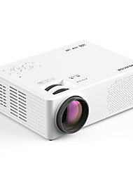 cheap -Factory Outlet M9 LED Projector Manual Focus WiFi Bluetooth Projector Video Projector for Home Theater 1080P (1920x1080) 6000 lm Compatible with iOS and Android TV Stick HDMI USB