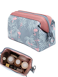cheap -Women's Bags Polyester Cosmetic Bag Zipper Floral Print Holiday Going out Retro Floral Blue Black Brown Dark Blue