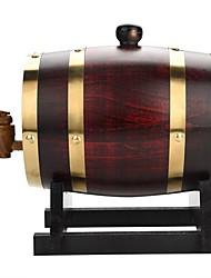 cheap -1.5L Vintage Wood Oak Timber Wine Barrel for Beer Whiskey Rum Port Furniture