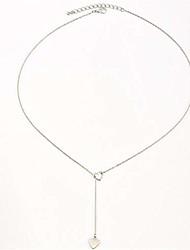 cheap -hollow peach heart long tassel pendant necklace women creative accessories pendant collarbone chain,golden