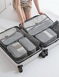 cheap -Travel Storage Bag Set for Clothes Tidy Organizer Wardrobe Suitcase Pouch Travel Organizer Bag Case Shoes Packing Cube Bag