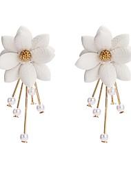 cheap -Women's Earrings Classic Cute Earrings Jewelry White For Street Gift
