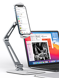 cheap -Phone Holder Stand Mount Desk Phone Holder Adjustable 360°Rotation Aluminum Alloy Metal Phone Accessory iPhone 12 11 Pro Xs Xs Max Xr X 8 Samsung Glaxy S21 S20 Note20