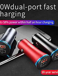 cheap -Joyroom 30 W Output Power Other Car Charger LED Lights Multi-Output QC 3.0 For Universal