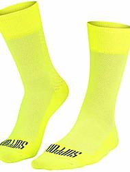 cheap -mens super light cycling socks, breathable technology, non-slip fiber, unisex, cycling accessories, hiking, climbing, cycling, riding, essentials, fluo, 10-11 uk / 45-46 eu