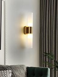 cheap -LED Wall Lights Matte Modern Nordic Style Wall Lamps Wall Sconces LED Wall Lights Bedroom Dining Room Glass Wall Light 220-240V 12 W