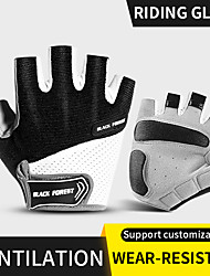 cheap -Bike Gloves / Cycling Gloves Skidproof Reduces Chafing Motor Bike Fingerless Gloves Sports Gloves Red Blue Black for Adults' Road Cycling Motorcycle Activity & Sports Gloves