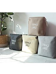 cheap -Pastoral Desktop Cosmetic Storage Box Coffee Table Remote Control Storage Basket Woven Basket Straw Key Snack Storage Box  35*25*40cm