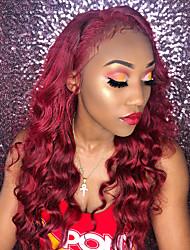 cheap -IShow popular Peru wig 99J # color hair T lace curvy hair Body hair set 150 natural hair display