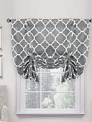 cheap -Window Curtain Window Treatments 1 Panel Room Darkening White for Kitchen Living Room Bedroom Patio Sliding Door