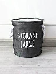 cheap -Pastoral Desktop Cosmetic Storage Box Coffee Table Remote Control Storage Basket Woven Basket Straw Key Snack Storage Box 36*41cm