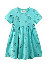 cheap -Kid's Little Girls' Dress Cartoon 67012 Dresses
