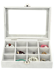 cheap -Storage Organization Storage Box Cloth Rectangle Shape Flip-open Cover 20*15*5cm