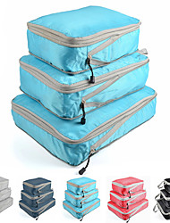 cheap -1 Set Compressed Storage Bag Set Waterproof Portable Foldable Clothes Sorting And Organizing Bag S M L
