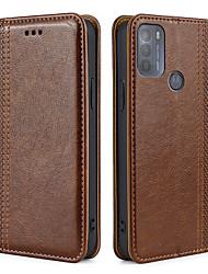 cheap -Phone Case For Motorola Full Body Case Leather Magnetic Adsorption Moto E7 Moto G6 Plus Moto G7 Plus Moto G7 Play Moto G7 Power MOTO G8PLUS one hyper Moto G8 MOTO ONE FUSION MOTO G 5G PLUS Shockproof