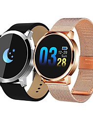 cheap -Q8 Smartwatch Fitness Running Watch Bluetooth Pedometer Sleep Tracker Sedentary Reminder Long Standby Anti-lost IP 67 33mm Watch Case for Android iOS Men Women / Heart Rate Sensor / NRF52832