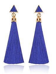 cheap -Women's Earrings Stylish Sweet Earrings Jewelry Blue / Red For