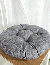 cheap -Seat Cushion Solid Color Thicken Round Chair Cushion Home Decor Cushion Pillows Chair Throw Floor Pillows Meditation Office Cushion