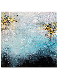 cheap -Oil Painting Handmade Hand Painted Wall Art Square Landscape Modern Abstract Paintings Home Decoration Decor Stretched Frame Ready to Hang