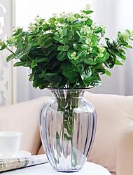 cheap -50*30cm Hand Feel Money Leaf Eucalyptus Flower Arrangement Accessory Green Plant Table Decoration