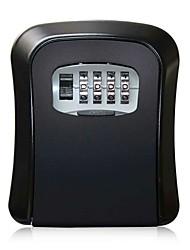 cheap -Decoration Password Key Box Cross-border Arc Aluminum Alloy Wall-mounted Password Box Construction Site Homestay Door Key Box 115X63MM