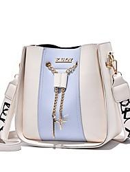 cheap -Women's Bags Crossbody Bag Shopping Going out 2021 Handbags Black / White Blushing Pink Khaki White
