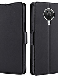 cheap -Phone Case For Nokia Full Body Case Leather Magnetic Adsorption Nokia 9 PureView Nokia 8 Nokia 7.1 Nokia 6 Nokia 5 Nokia 5.1 Nokia 3.1 Nokia 2.2 Nokia 1.3 Nokia 5.3 Dustproof Water Resistant Tile
