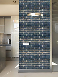 cheap -Wallpaper Wall Cover Sticker Film Peel and Stick Removable Self Adhesive Brick Vinyl PVC Home Decoration 1000*45cm