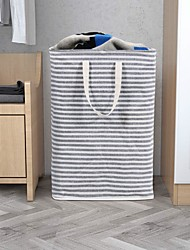 cheap -Buggy Bag Waterproof Storage Bag Household Dirty Laundry Basket Folding Clothing Storage Bucke 40*30*60cm