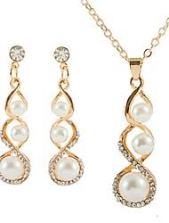 cheap -Women's Jewelry Set Earrings Jewelry Gold For Wedding Gift Formal