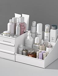 cheap -Cosmetic Storage Box Dormitory Home Desktop Dressing Table Skin Care Lipstick Large Capacity Drawer Type Organizer Rack