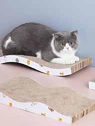cheap -Scratching Board Cat 1pc Pet Exercise Wood Gift Pet Toy Pet Play