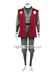 cheap -Inspired by Naruto Jiraiya Anime Cosplay Accessories Gloves Belt Leg Warmers Terylene Men's Halloween Costumes
