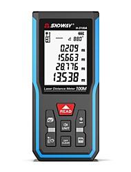 cheap -SNDWAY Laser Distance Meter Digital Rangefinder 120m 100m 70m 50m Laser Distance Measure Electronic Level Ruler Range Finder