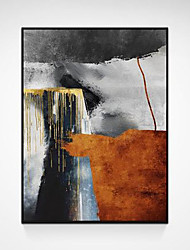 cheap -Oil Painting Handmade Hand Painted Wall Art Color Abstract Room Aecorations Home Decoration Decor Stretched Frame Ready to Hang