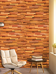 cheap -Wallpaper Wall Cover Sticker Film Peel and Stick Removable Self Adhesive Realistic Wood Sensation Vinyl PVC Home Decoration 1000*45cm